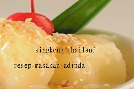 Resep Singkong Thailand