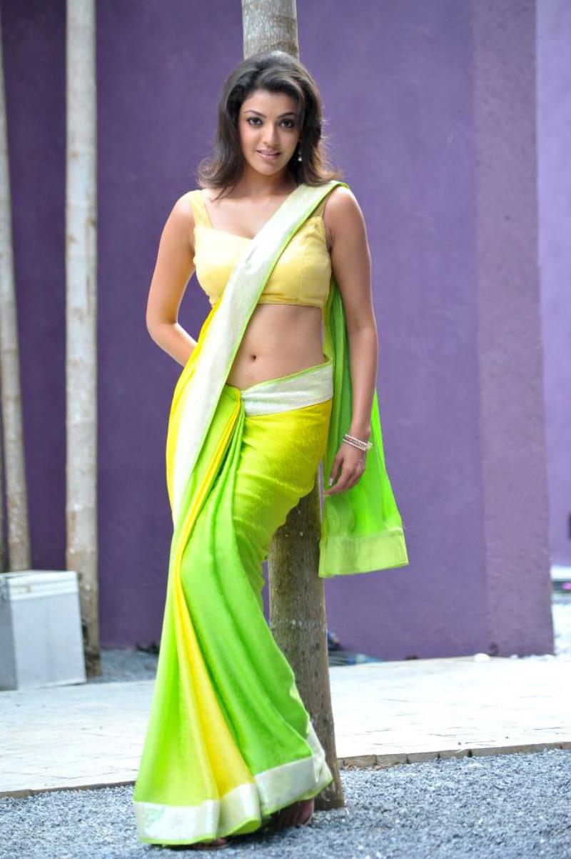 Saree Blouse Designs South Indian Actress  Model Kajal -3308