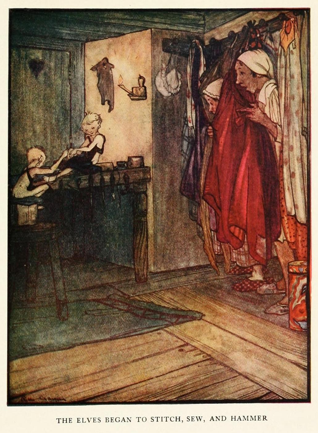 Grimm S Fairy Tale About Shoe Maker