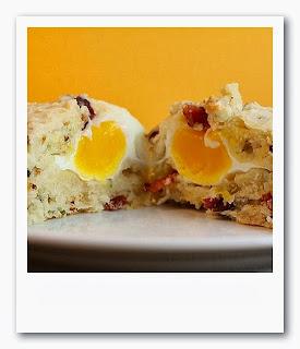 Muffins de huevo & bacon