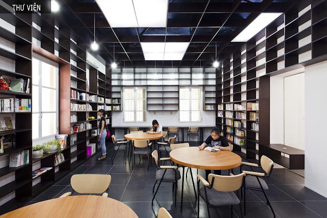 Không gian giáo dục tại tháp doanh nhân