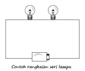 Contoh Soal Dan Contoh Pidato Lengkap Gambar Rangkaian Listrik Seri Sederhana