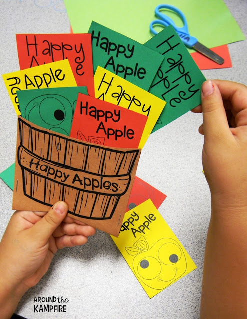 Free printable happy apple behavior coupons for kids from AroundtheKampfire.com