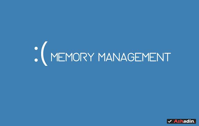 Cara mengatasi Blue Screen error Memory Management di semua versi Windows pasti berhasil!