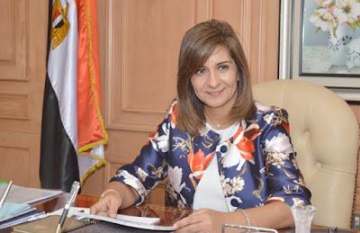 """وزيرة الهجرة: """"بلاش تكتبوا عبارات حب للقيادة السياسية في ورقة الاستفتاء حتى لا يبطل الصوت"""""""