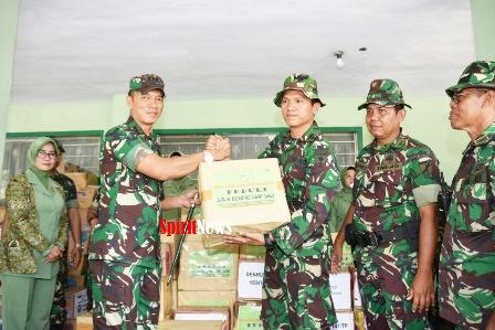 Danrem 141/Tp , Memberikan Bantuan Pada Korban Gempa/Tsunami di Palu dan Donggala