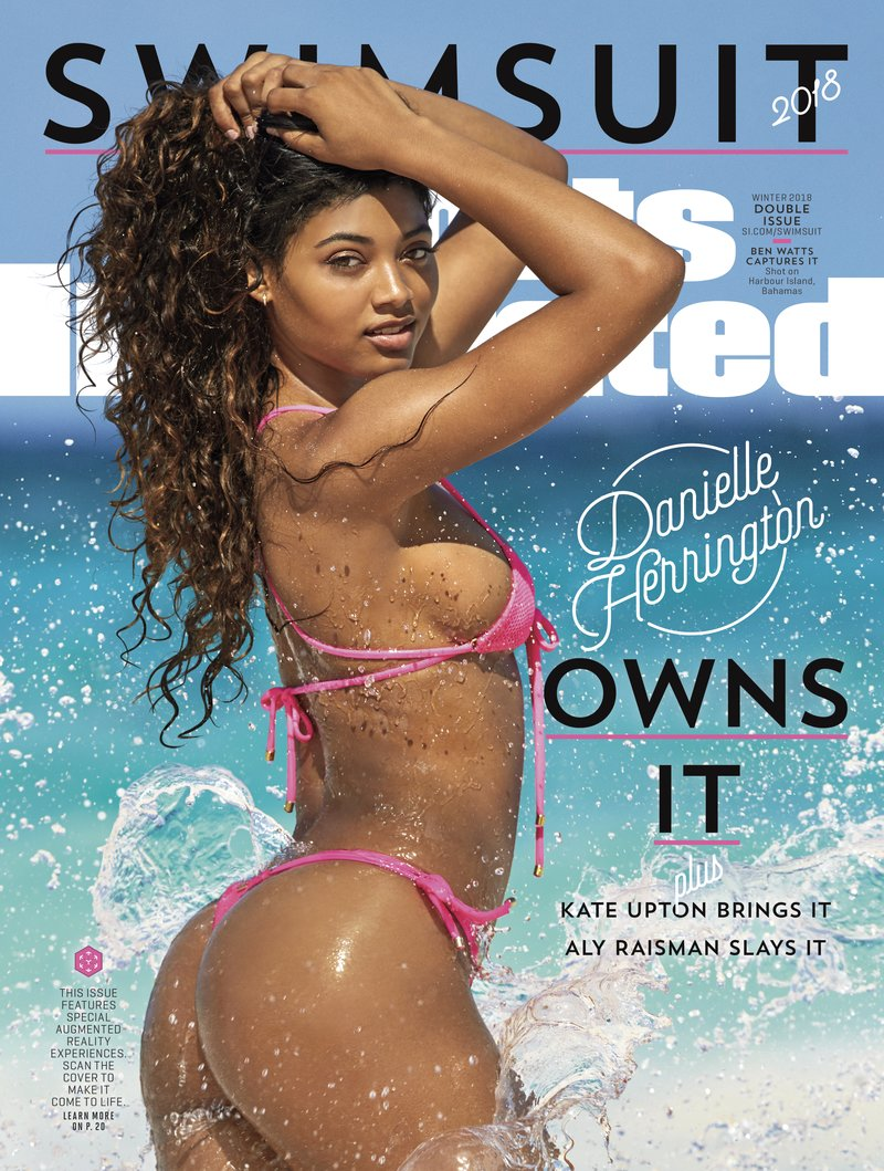 Danielle Herrington features on the 2018 Sports Illustrated Swim Cover