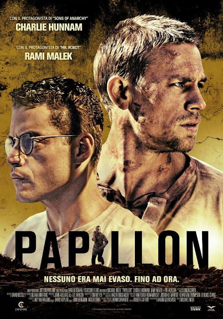 Papillon Poster Film