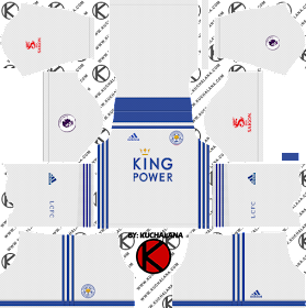 Leicester City 2018/19 Kit - Dream League Soccer Kits