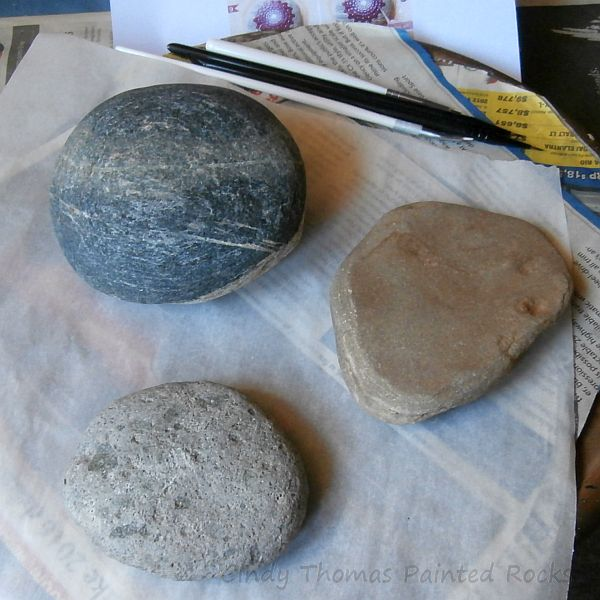 Stones for Dotted Mandala Painting