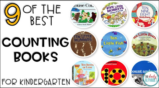The Best Counting Books for Kindergarten