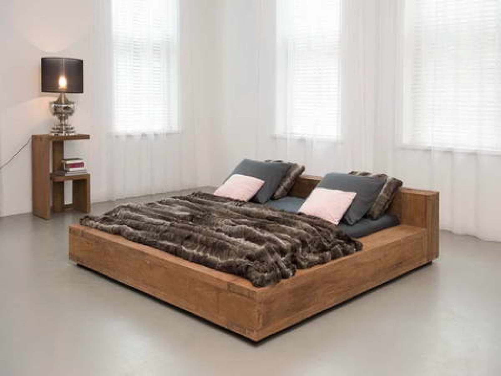 Futuristic Low Profile Bed Frame Collection