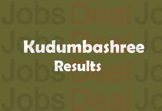 Kudumbasree Result 2017