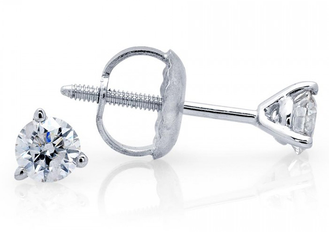 Valentine's Day Gift Ideas: Diamond Stud Earrings