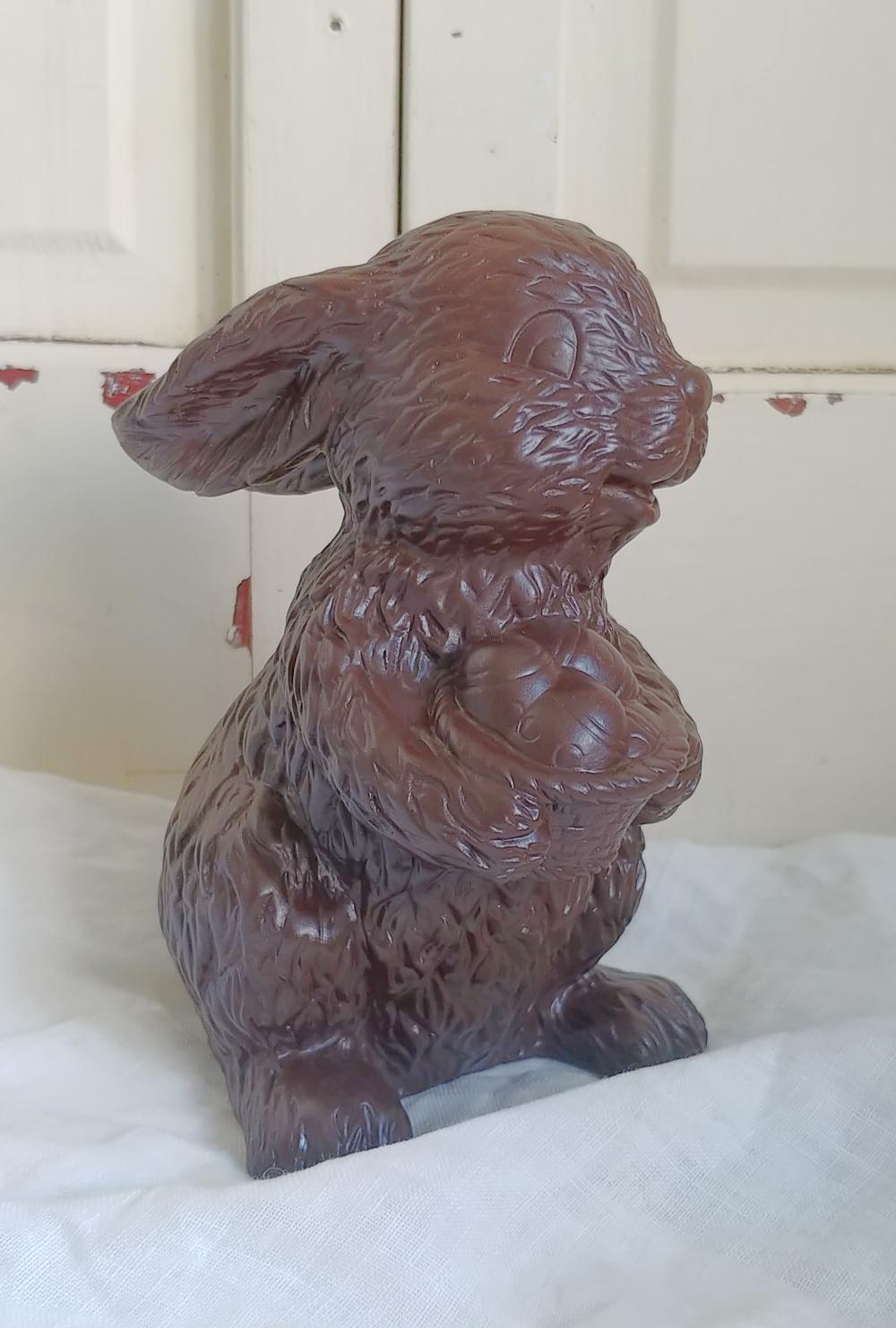 DIY chocolate rabbit