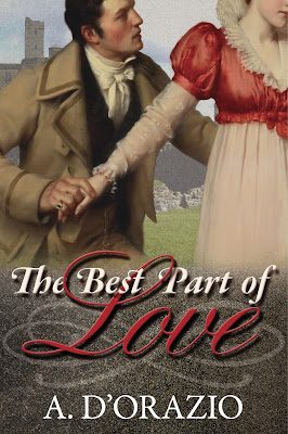 Book Cover: The Best Part of Love by A. D'Orazio
