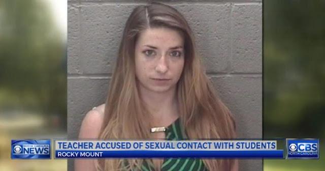 Arrestan a maestra de matemáticas por tener sexo con 3 alumnos; les enseñó el seno y el coseno