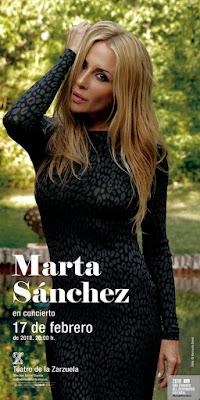 La mejor MARTA SÁNCHEZ triunfa en el Teatro de la Zarzuela.
