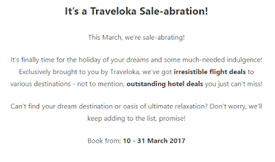 Traveloka Sale-Abration Campaign
