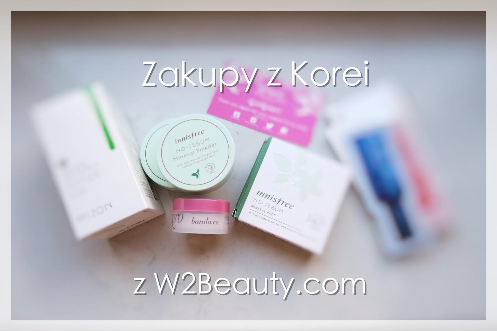 Koreańskie zakupy z W2Beauty