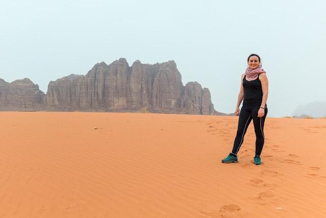 Paisajes de Wadi Rum Jordania