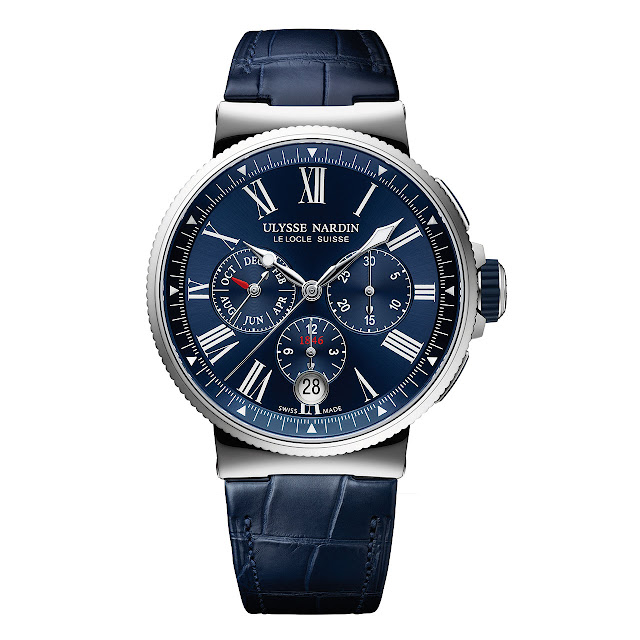 Ulysse Nardin Marine Chronograph Annual Calendar Mechanical Automatic Watch