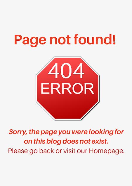 danger error page