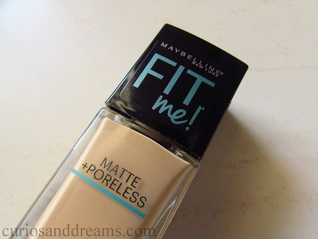 Maybelline Fit Me foundation review, Maybelline Fit Me foundation india