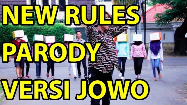 Video Musik Parodi New Rules Dua Lipa Versi Jawa By Alif Rizky