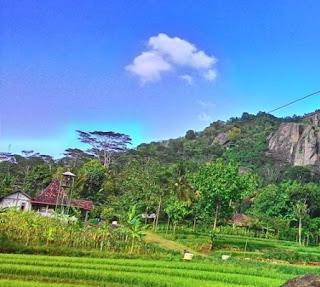 Desa wisata Nglanggeran Yogyakarta
