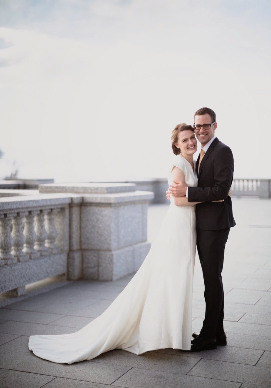 Out Of The Frying Pan...: They got married!