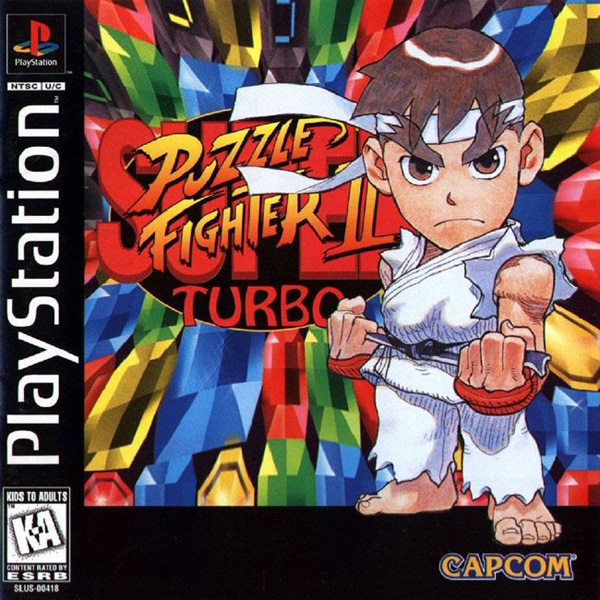 Super Puzzle Fighter II Turbo - PS1 - ISOs Download