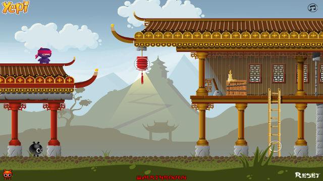 ninja land    u00c9nigmes sur pc
