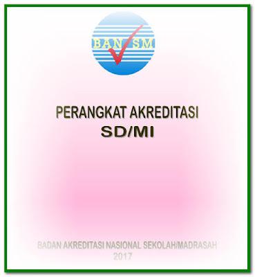 Perangkat Akreditasi SD/MI SMP/MTs Format Words.Doc Tahun 2017
