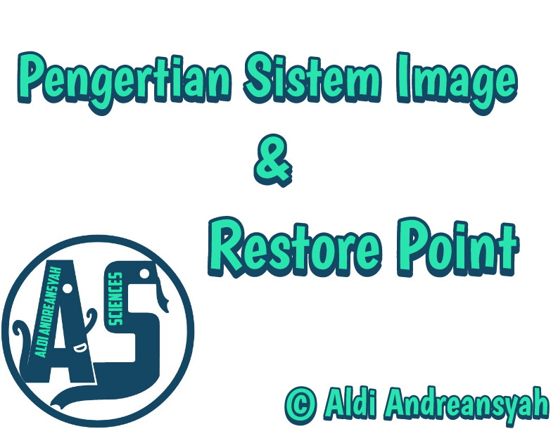 pengertian restore point dan sistem image