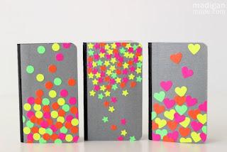 notebook neon