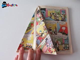 pagine per albero di natale con fumetti