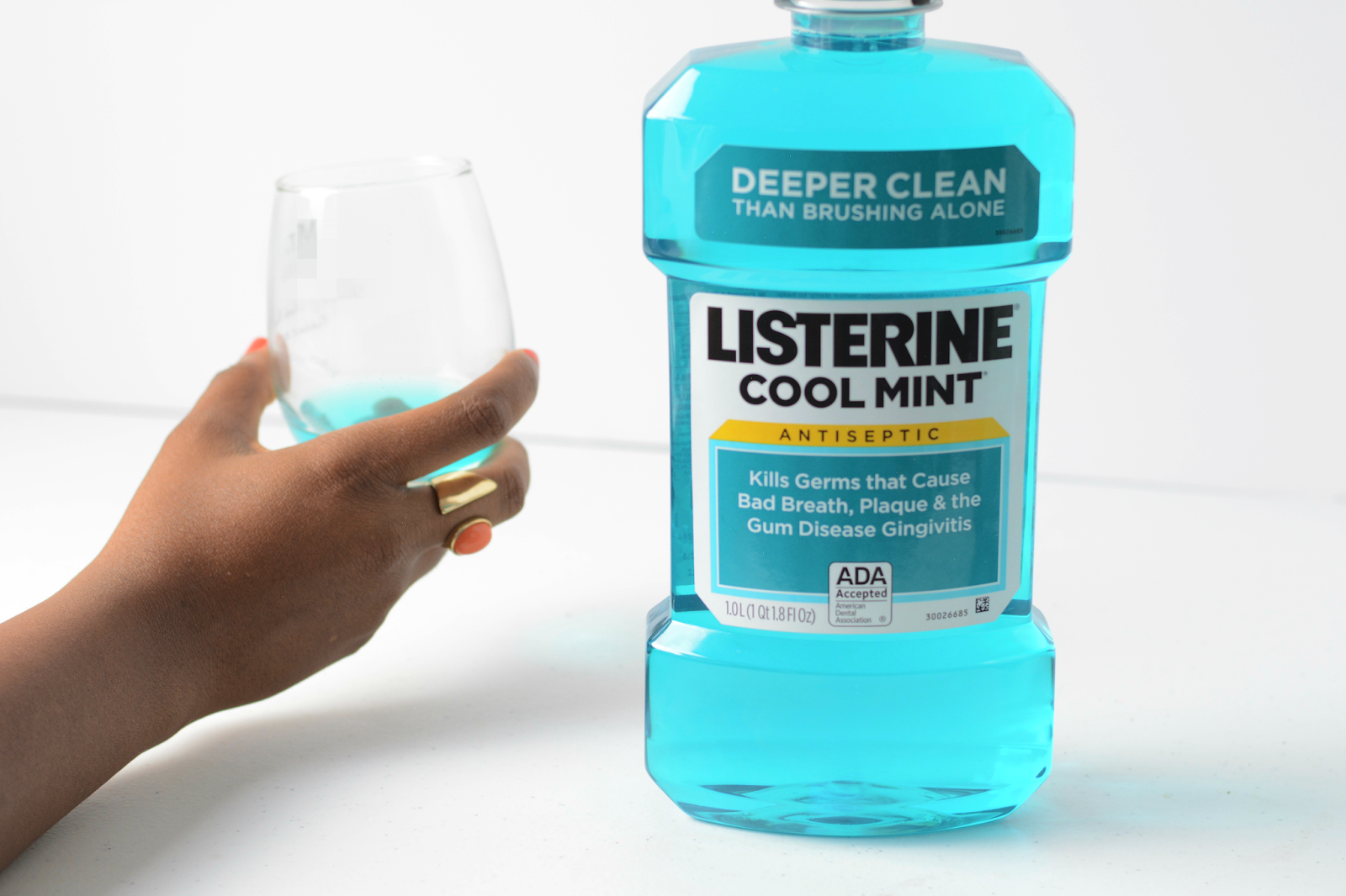 bring out the bold with listerine