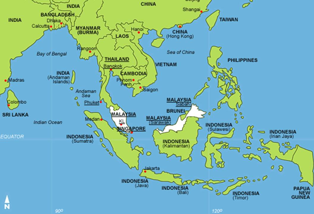 capitals 2004 asia map country image galleries imagekb com map of sea