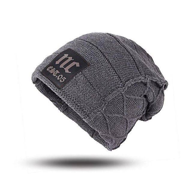 Baggy Camping Wool Knit Winter Beanie