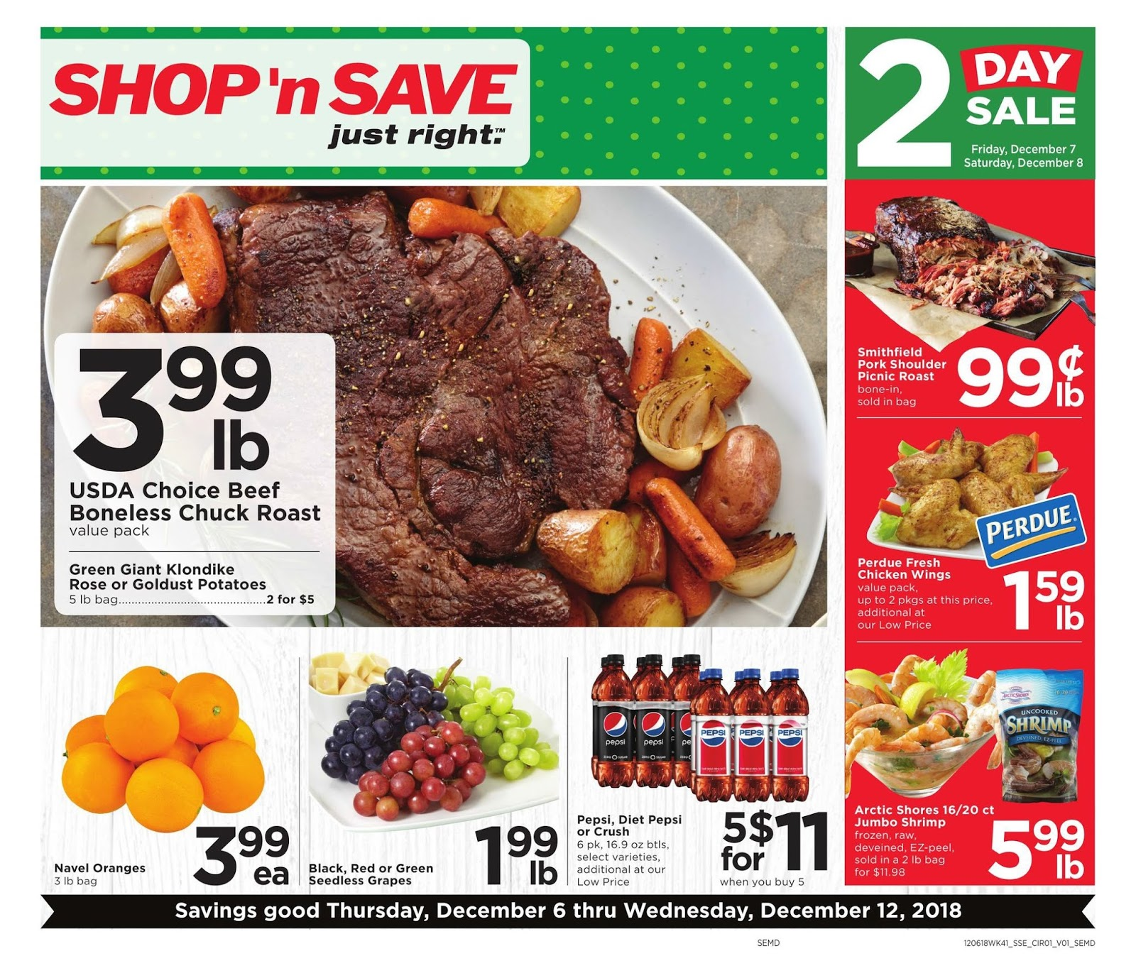 N Save Weekly Ad Preview 12 6 18