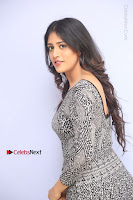 Actress Chandini Chowdary Pos in Short Dress at Howrah Bridge Movie Press Meet  0082.JPG