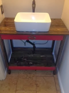 Guest Bath Vanity - Love this one!