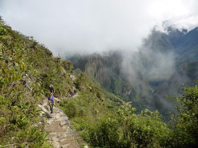 Machupicchu, subida a la montaña
