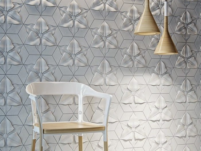 Lovely Decorative 3D Wall Panels, Floral 3D Wall Art Decor