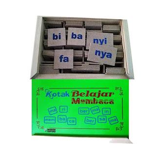 Kotak Baca Mainan Kayuku