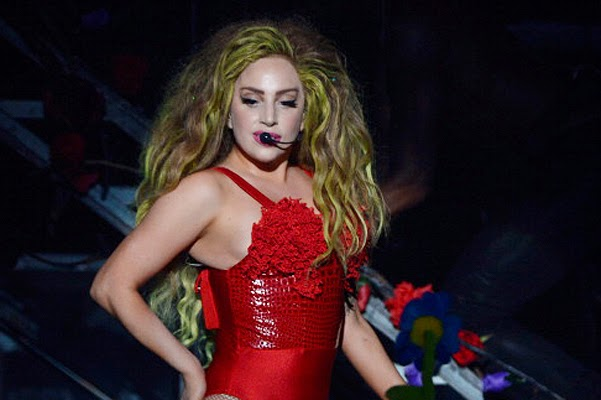Lady Gaga celebrated 28 years of performances in New York