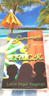Operation Awesome #20Questions in #2020 of #NewBook Debut Author Laura Stegman ~Summer of L.U.C.K. Takes a Virtual Visit to the Beach