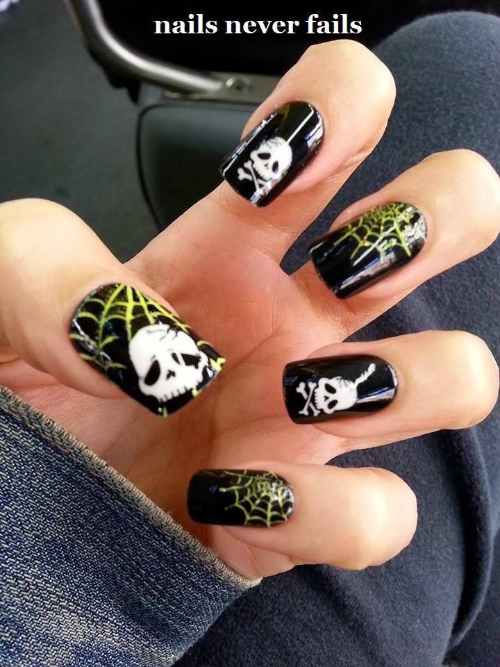 Nails Never Fails: Impress Limited Edition Halloween Nails