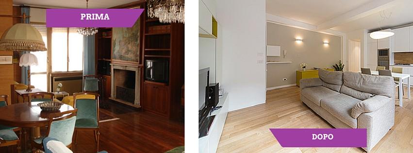 Interior relooking l ultima tendenza per ristrutturare - Ristrutturazione casa anni 70 ...